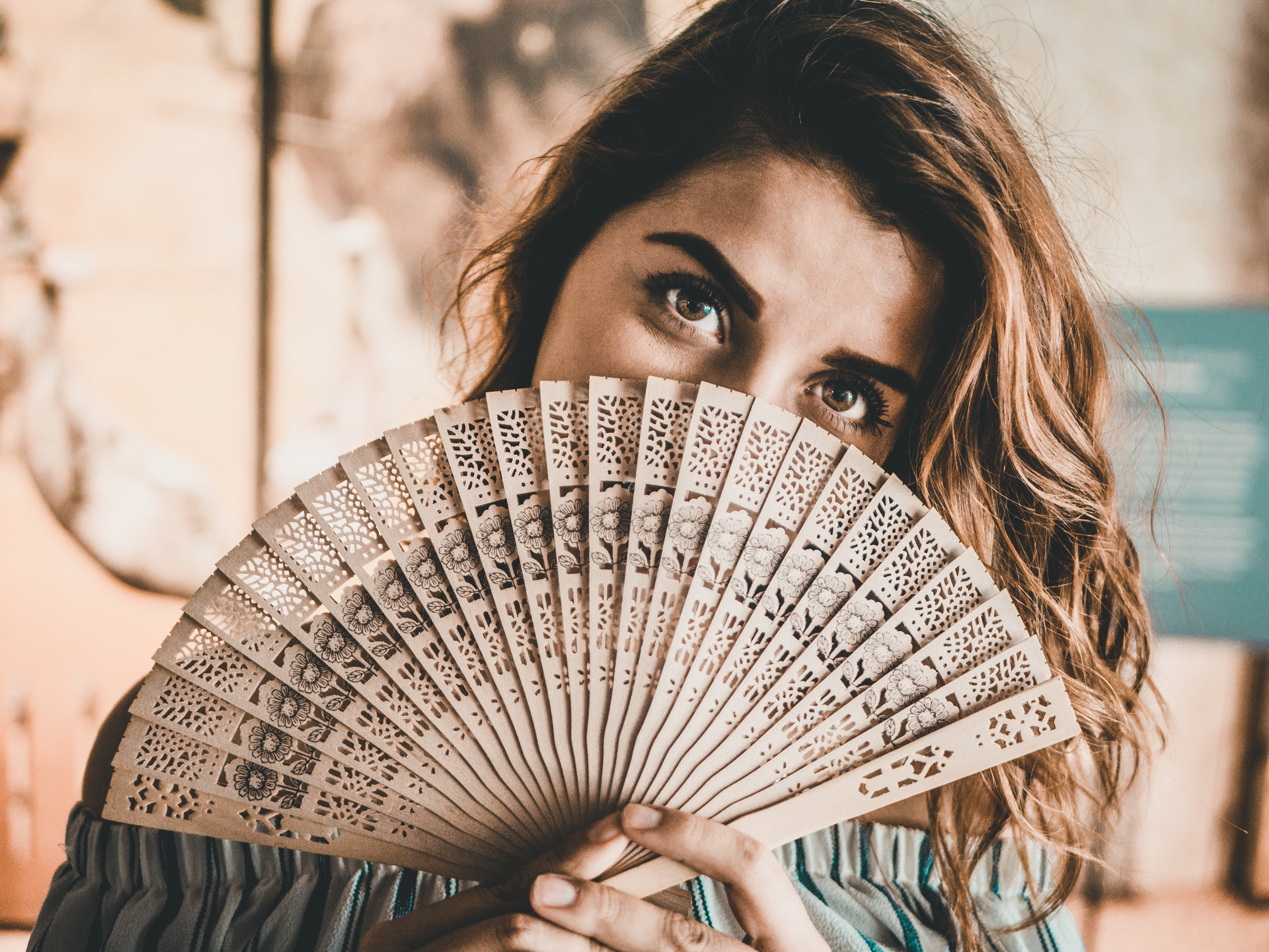 During peri-menopause or menopause using a fan can help manage hot flushes