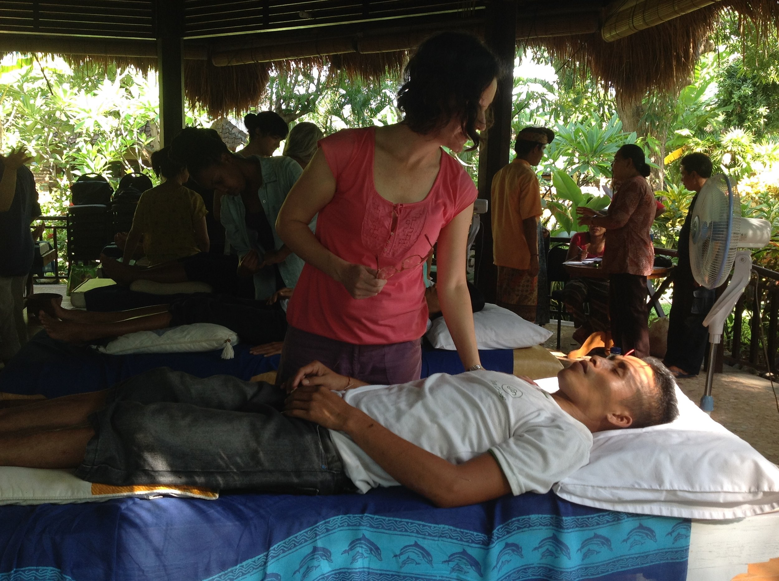 Community Acupuncture and Chinese Medicine Clinic, Pemuteran, Bali 2013.
