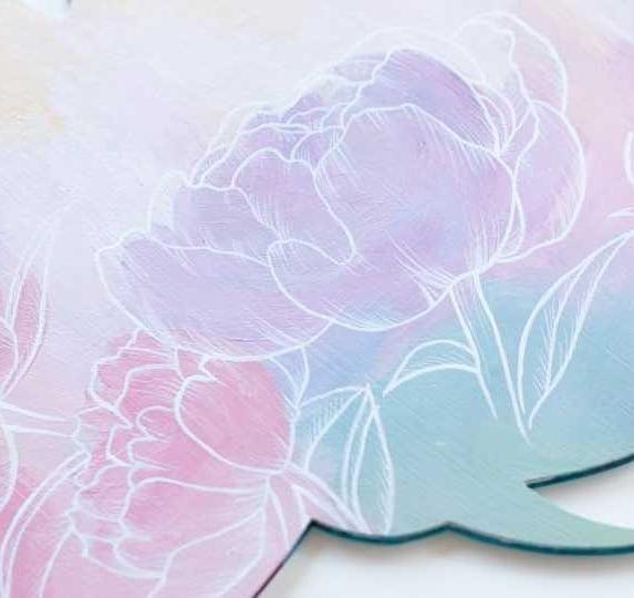 What's your favorite ice cream flavor? Comment below 🍦🍧🍨 I like ice cream that has floral flavors to it. this painting reminds me of the honey and lavender ice cream from Salt & Straw.  ____ @m.grahamco Acrylics on wood  #floralillustration #botanicalpainting #botanicalartist #floralsyourway #floralarthub #plantdrawing #floraldrawing #illustrationnow #myartwork #acrylicpaint #instadrawing  #creativeentrepreneur #doitfortheprocess #portraitart #creativehappylife #mybeautifulmess #acryliconcanvas #handsandhustle #iloveart #fineliner #artmagazine #artofdrawingg #floralart #inthestudio #makersvillage #artist_sharing #carveouttimeforart #spotlightonartists #proartists #instapainting