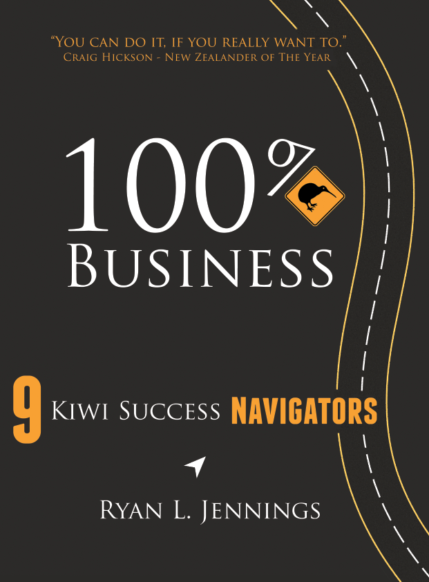 100% Kiwi Business Book Cover
