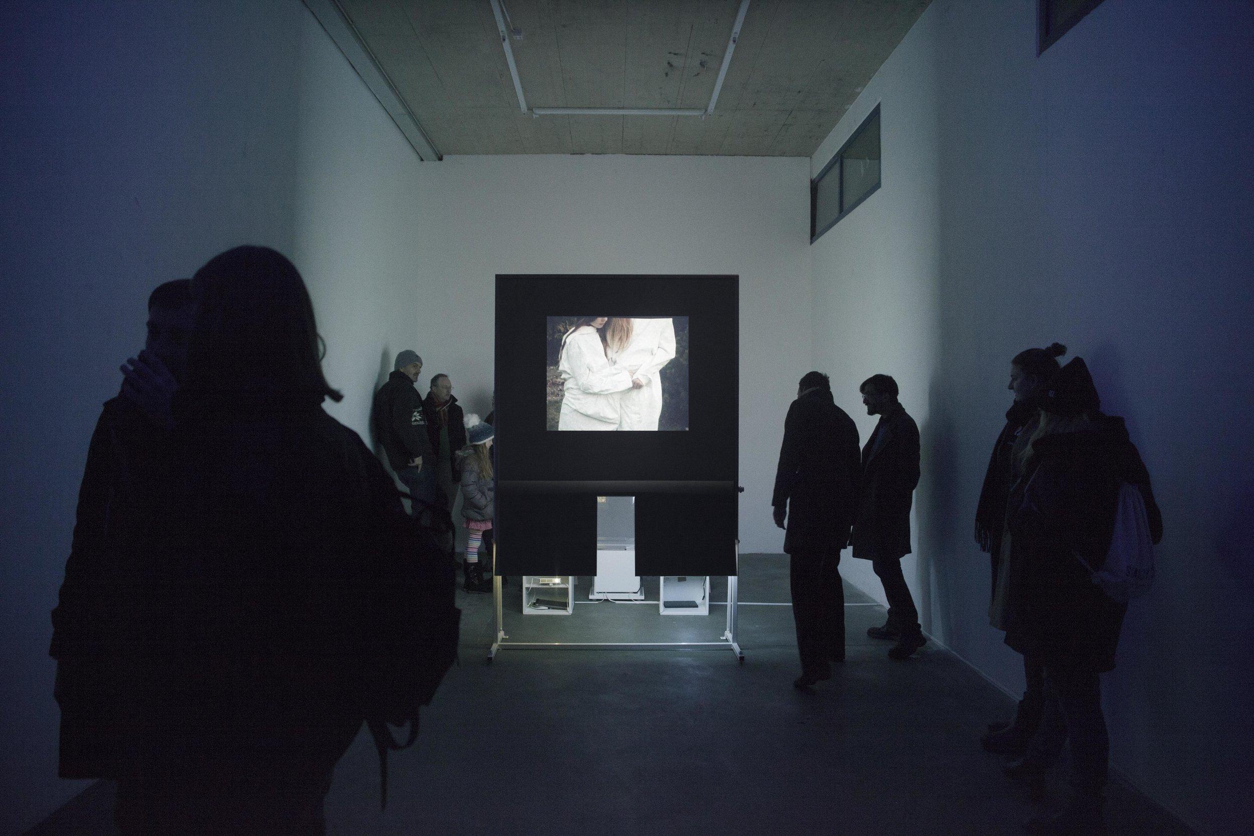 EXHIBITION - a video installation named souviens toi hier, Ateliers de Bellevaux, Lausanne, 2018