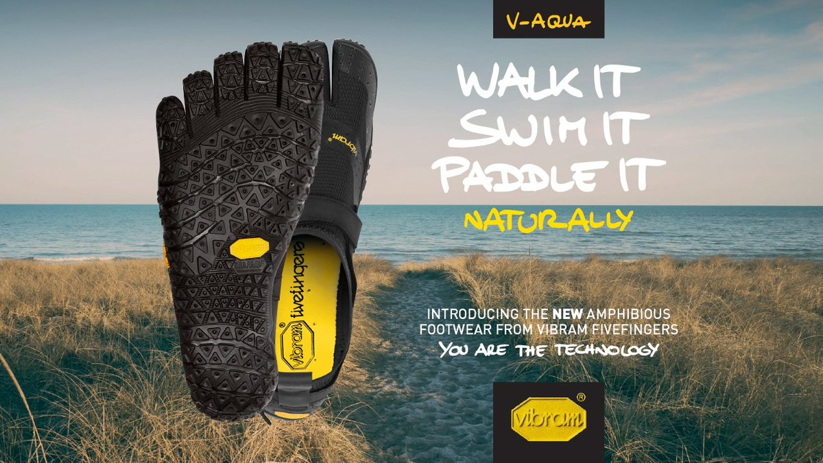 Vibram V-Aqua - The V-Aqua will get you on and off your SUP, your boat or into the river to your Kayak with ease. Not to mention it will pack into a dry bag like no other FiveFingers model.