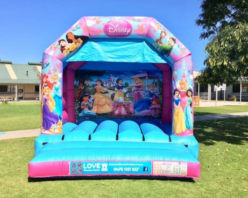 Princess Bouncy Castle Hire Baldivis