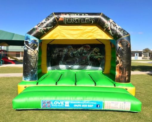 Teenage Mutant Ninja Turtles Bouncy Castle Hire Baldivis