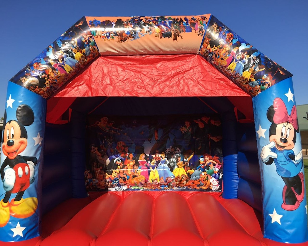 Disney Bouncy Castle Hire Mandurah