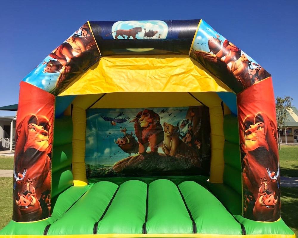 Lion King Bouncy Castle Hire Mandurah