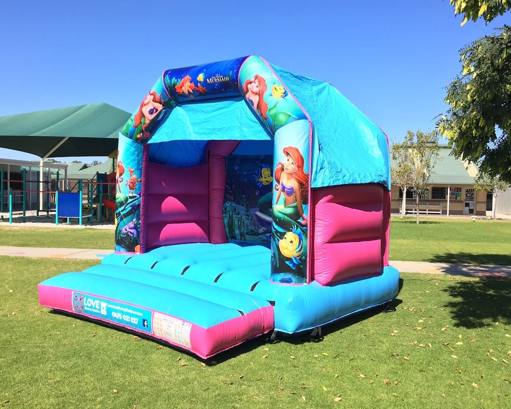 Little Mermaid Bouncy Castle Hire Rockingham