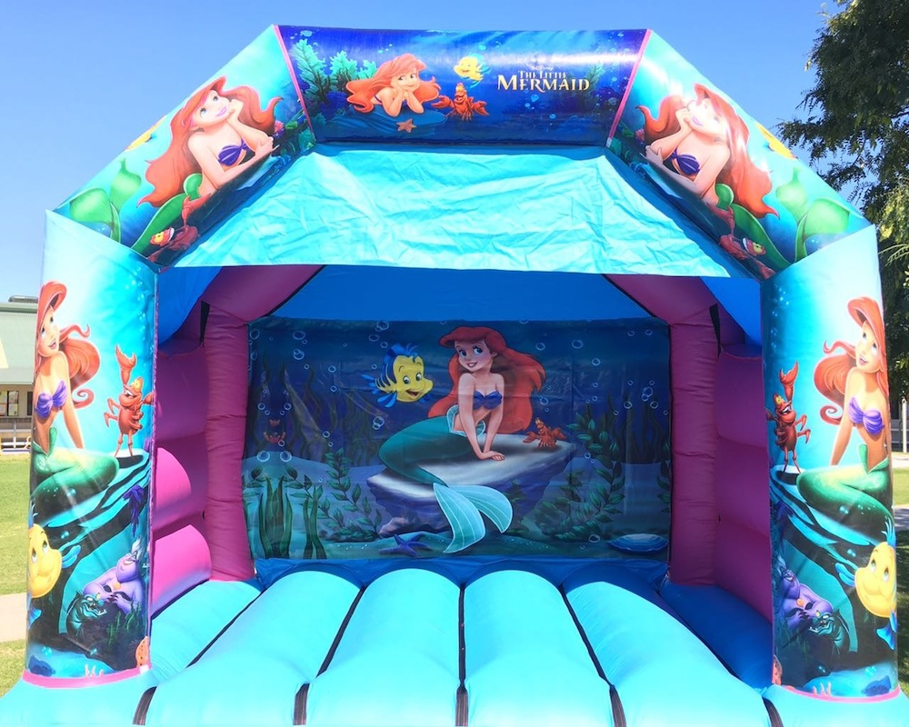 Little Mermaid Bouncy Castle Hire Mandurah