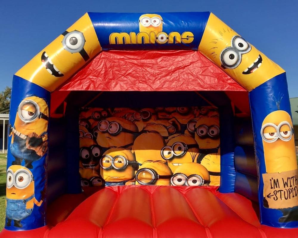 Minions Bouncy Castle Hire Mandurah