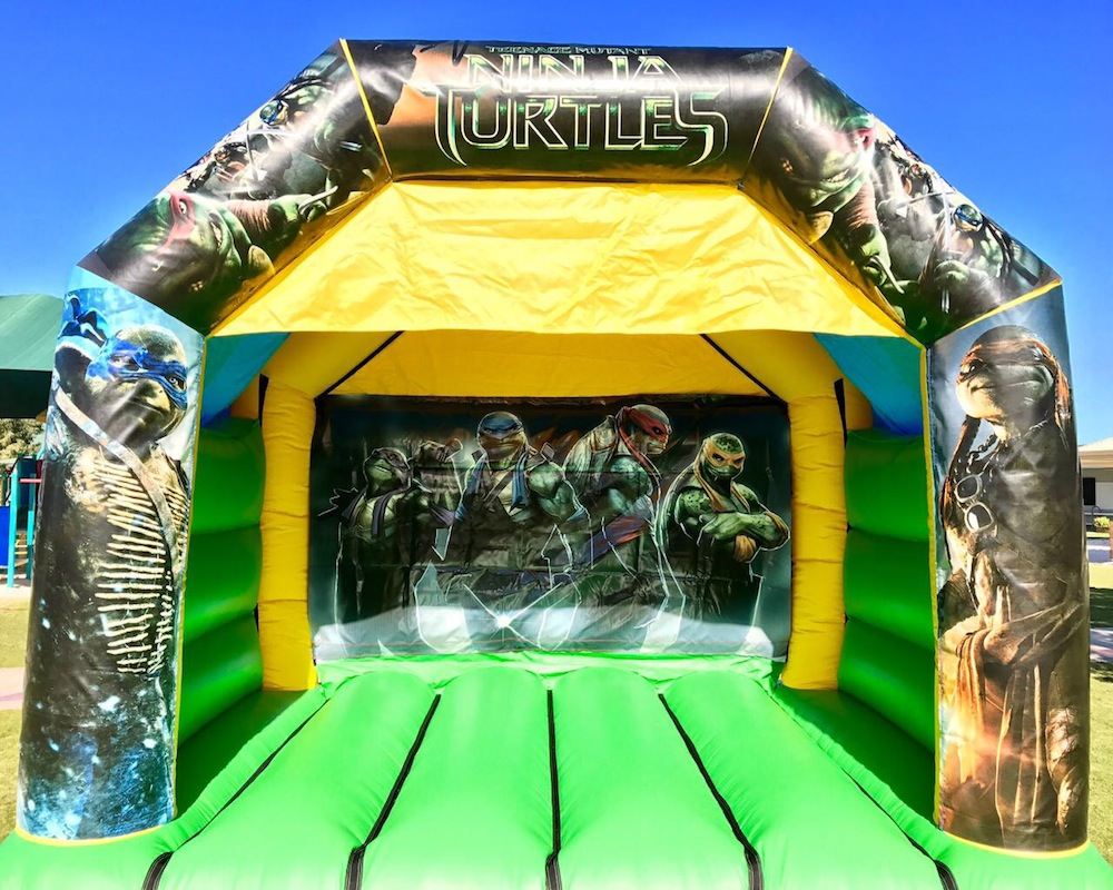 Teenage Mutant Ninja Turtles Bouncy Castle Hire Mandurah