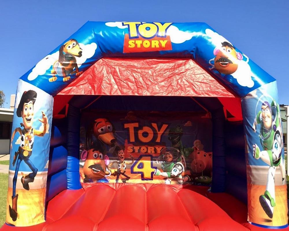 Toy Story Bouncy Castle Hire Mandurah