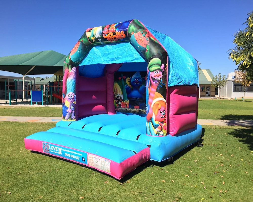 Trolls Bouncy Castle Hire Rockingham