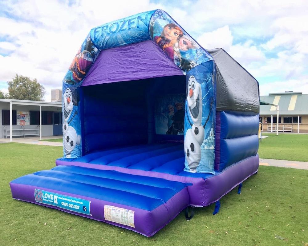 Frozen Adult Bouncy Castle Hire Rockingham