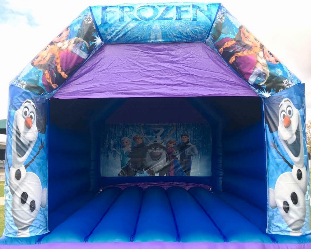 Frozen Adult Bouncy Castle Hire Mandurah
