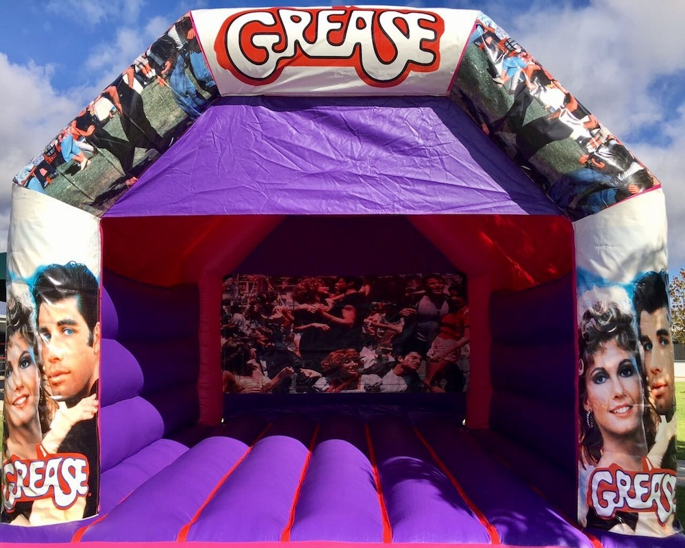 Grease Adult Bouncy Castle Hire Mandurah
