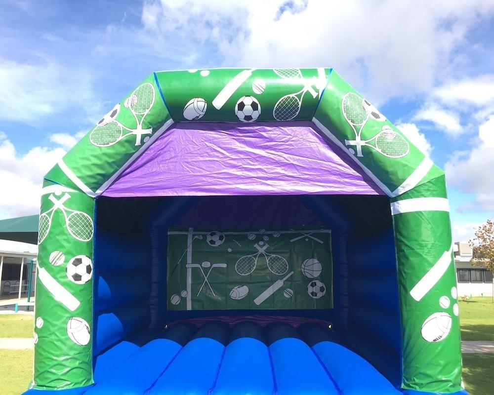 Adult Sports Bouncy Castle Hire Mandurah