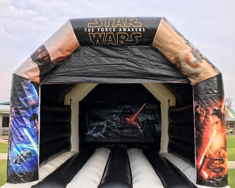 Adult Star Wars Bouncy Castle Hire Mandurah