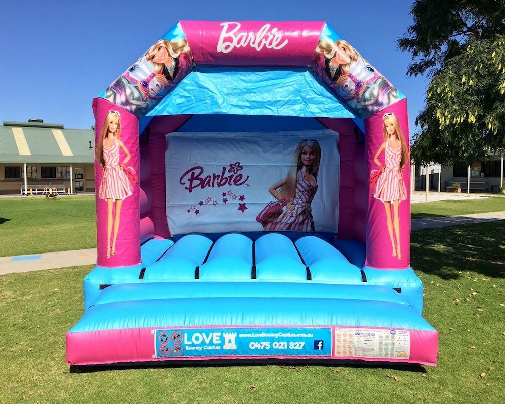 barbie bouncy castle hire Baldivis