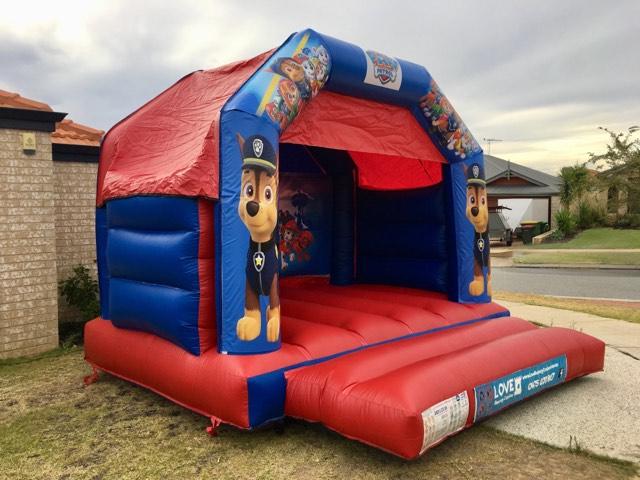 Paw Patrol Bouncy Castle Hire Rockingham