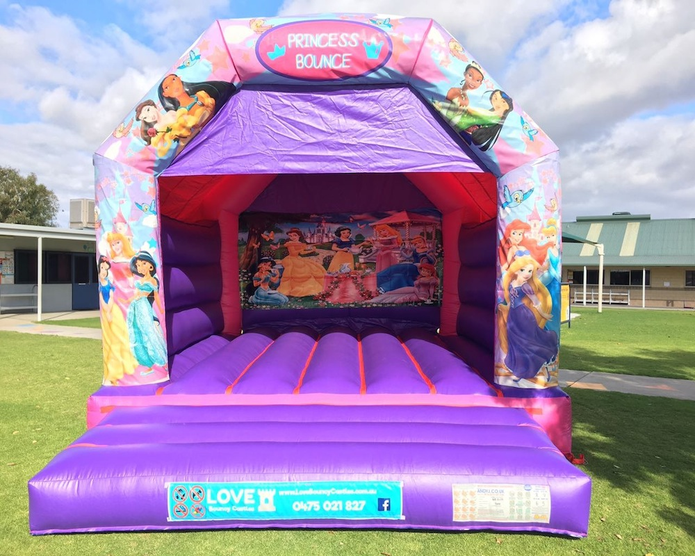 Large Princess Bouncy Castle