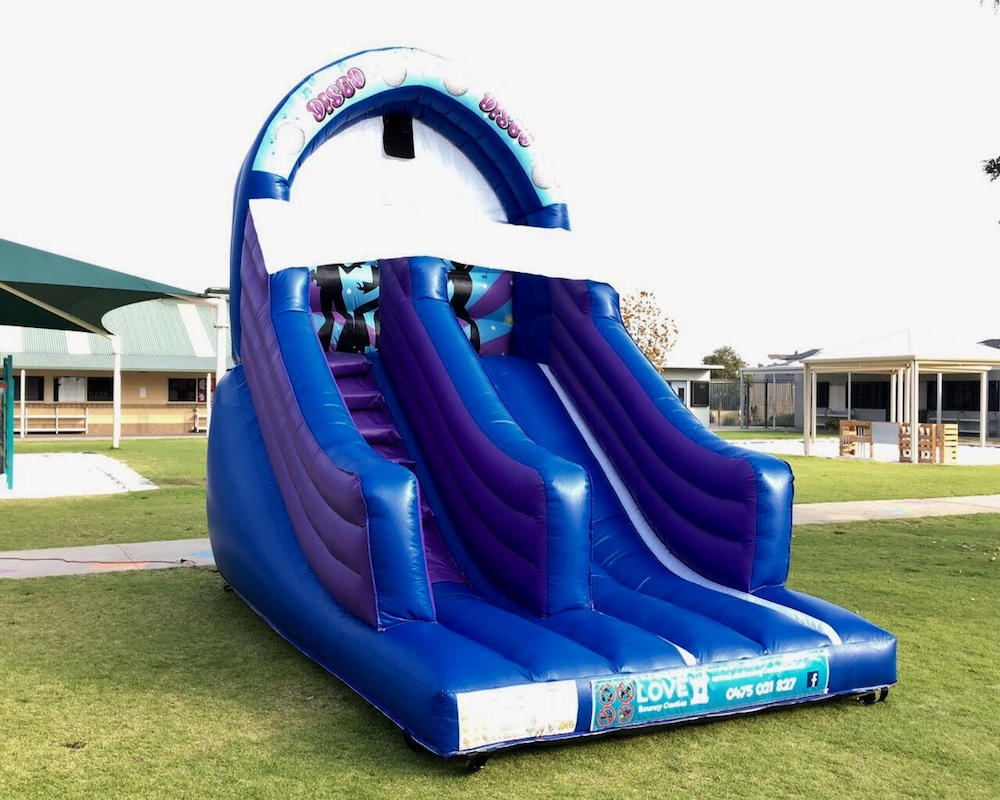 Big Blue Disco Slide