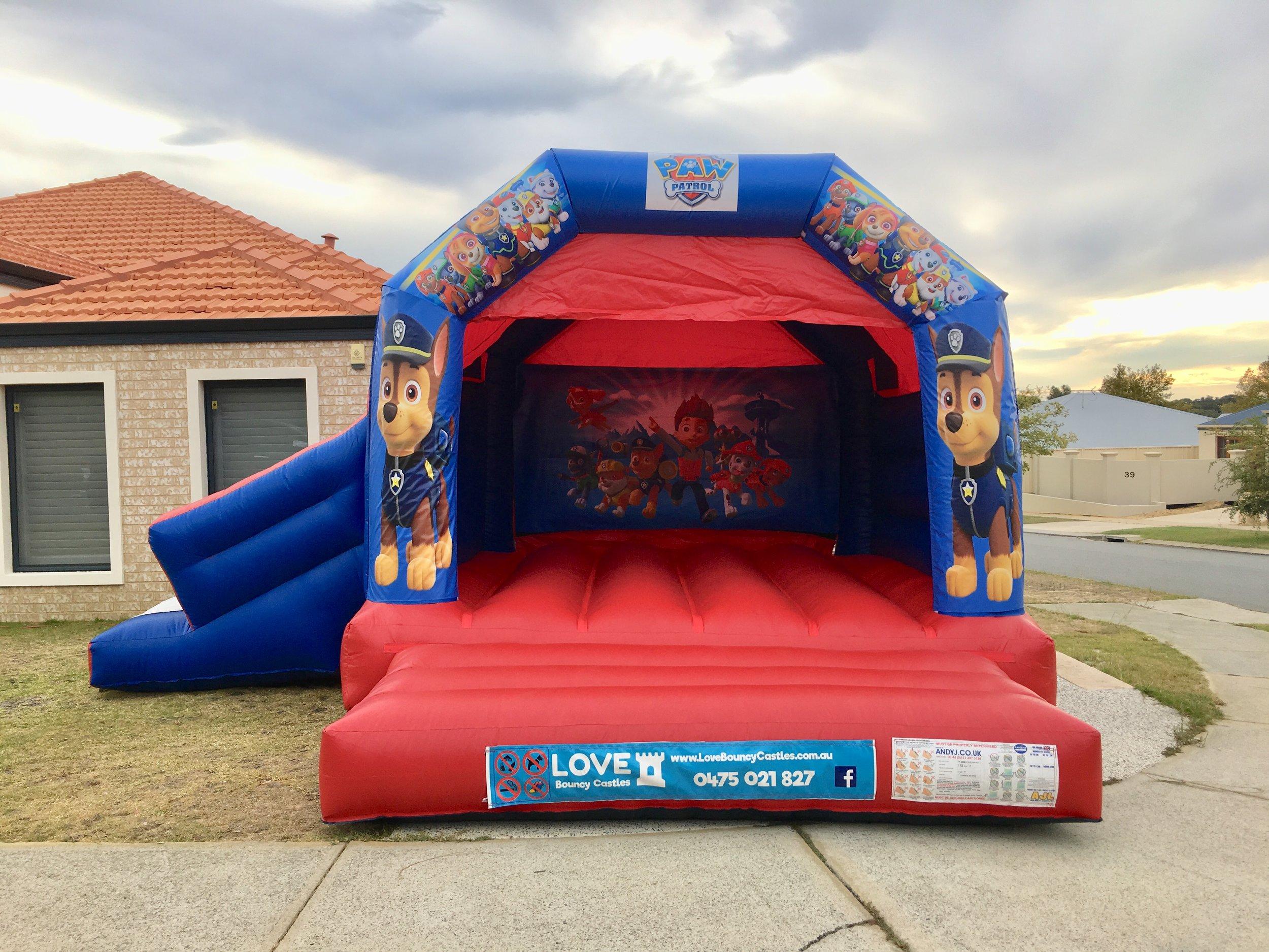 Paw Patrol Combo Bouncy Castle