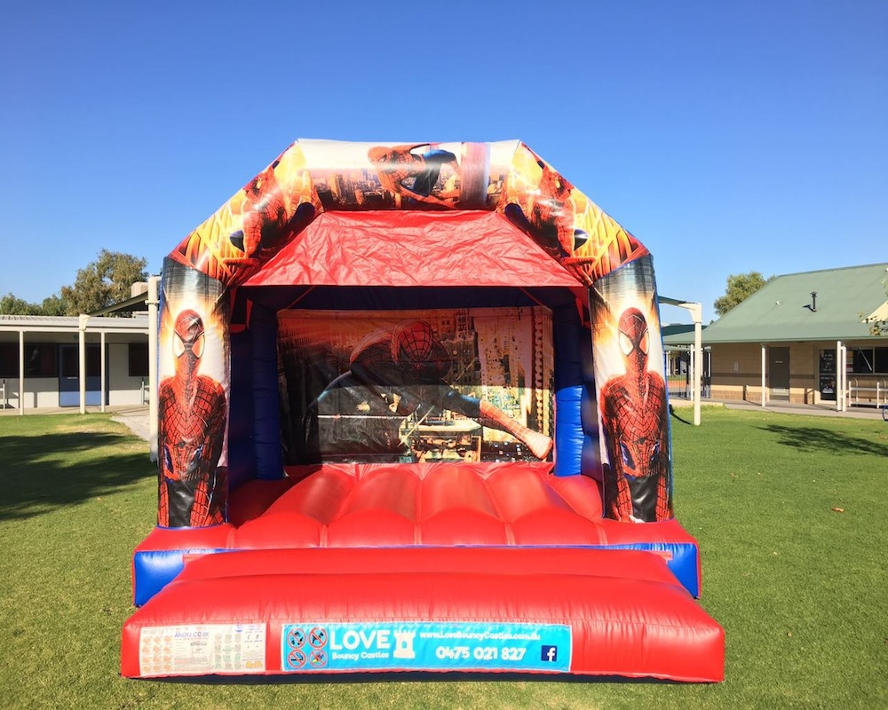 Spider man bouncy Castle