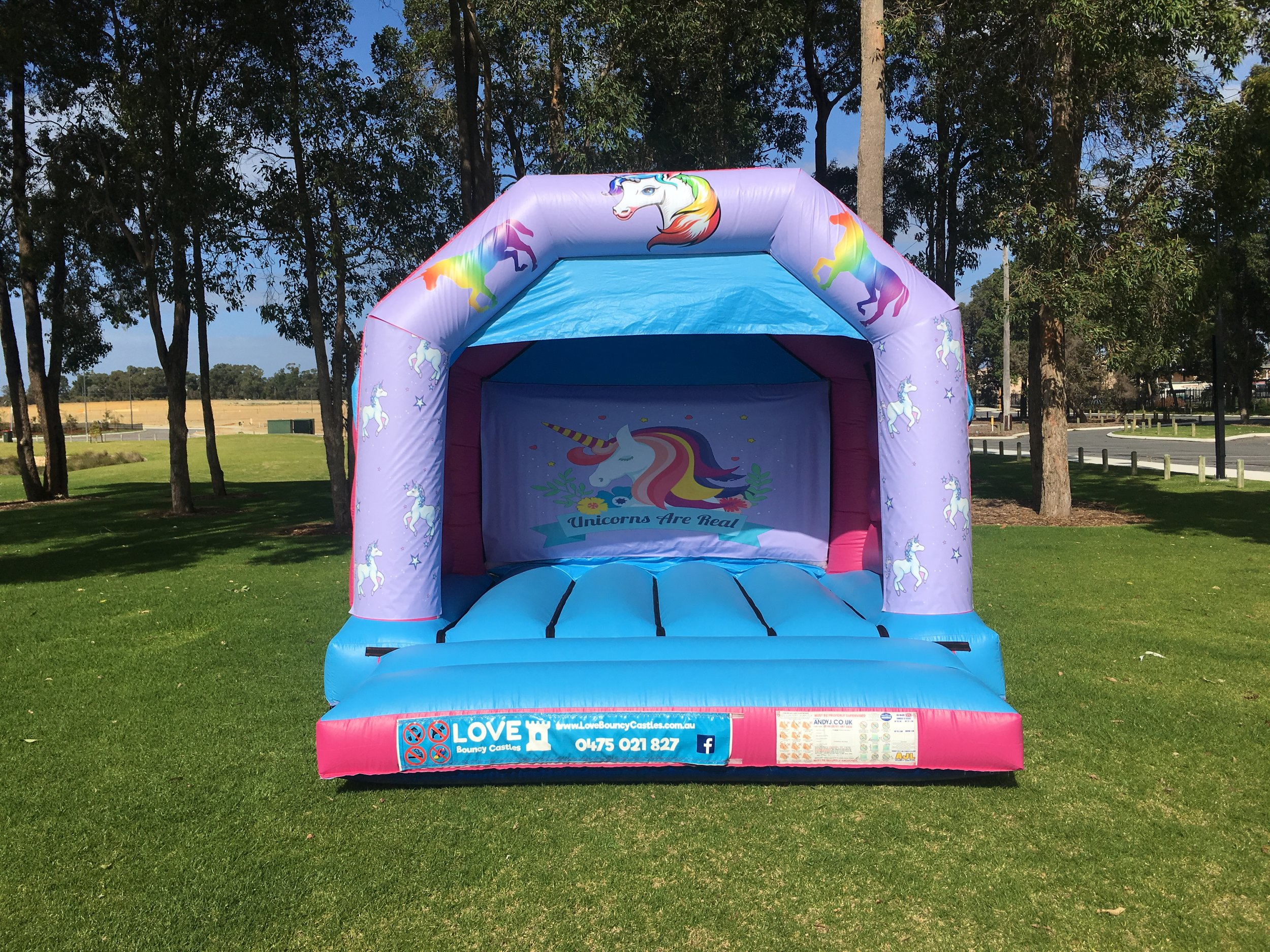 Unicorn Bouncy Castle Hire Baldivis