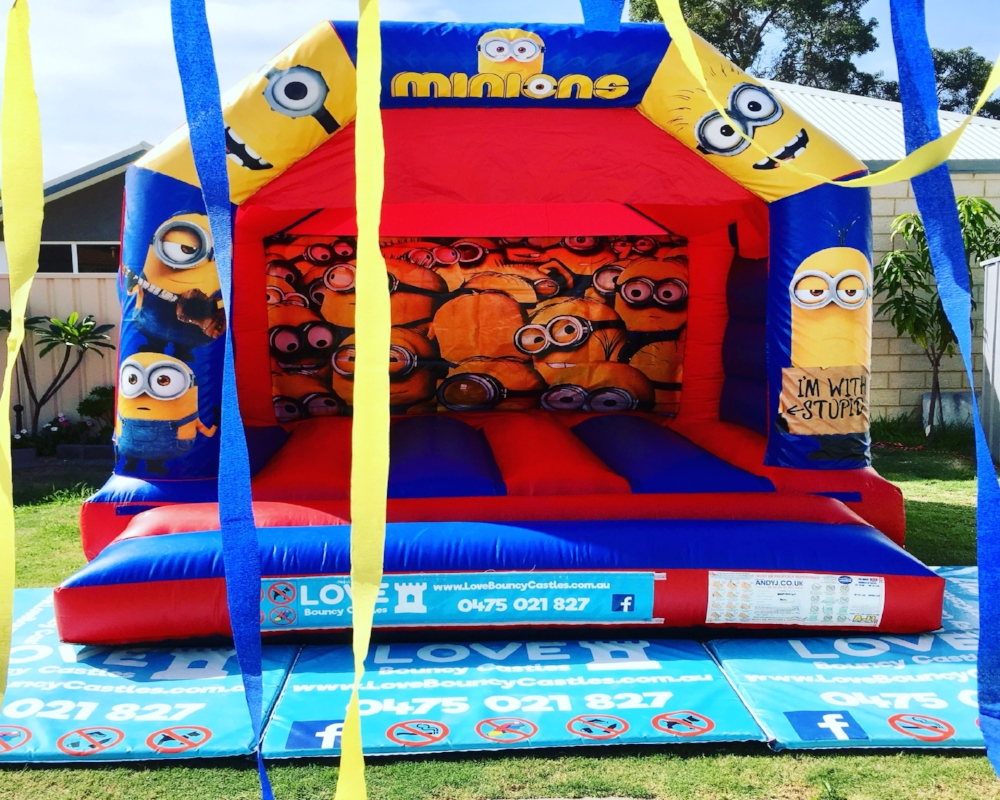 Minions Jumping Castle Hire In Safety Bay, Rockingham