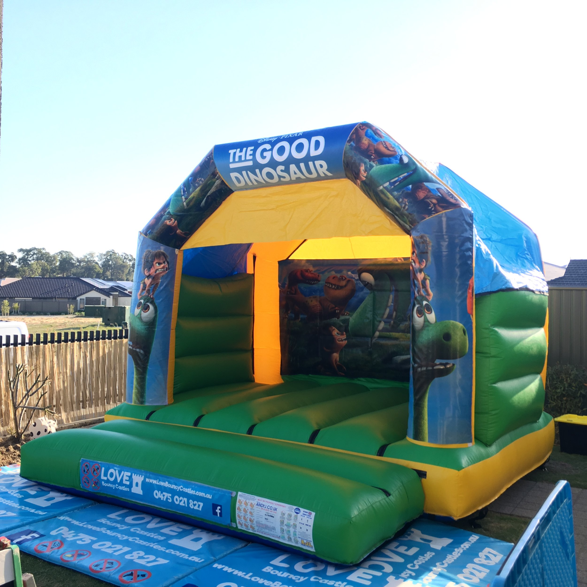 Copy of Dinosaur Themed Bouncy Castle Hire Perth, WA