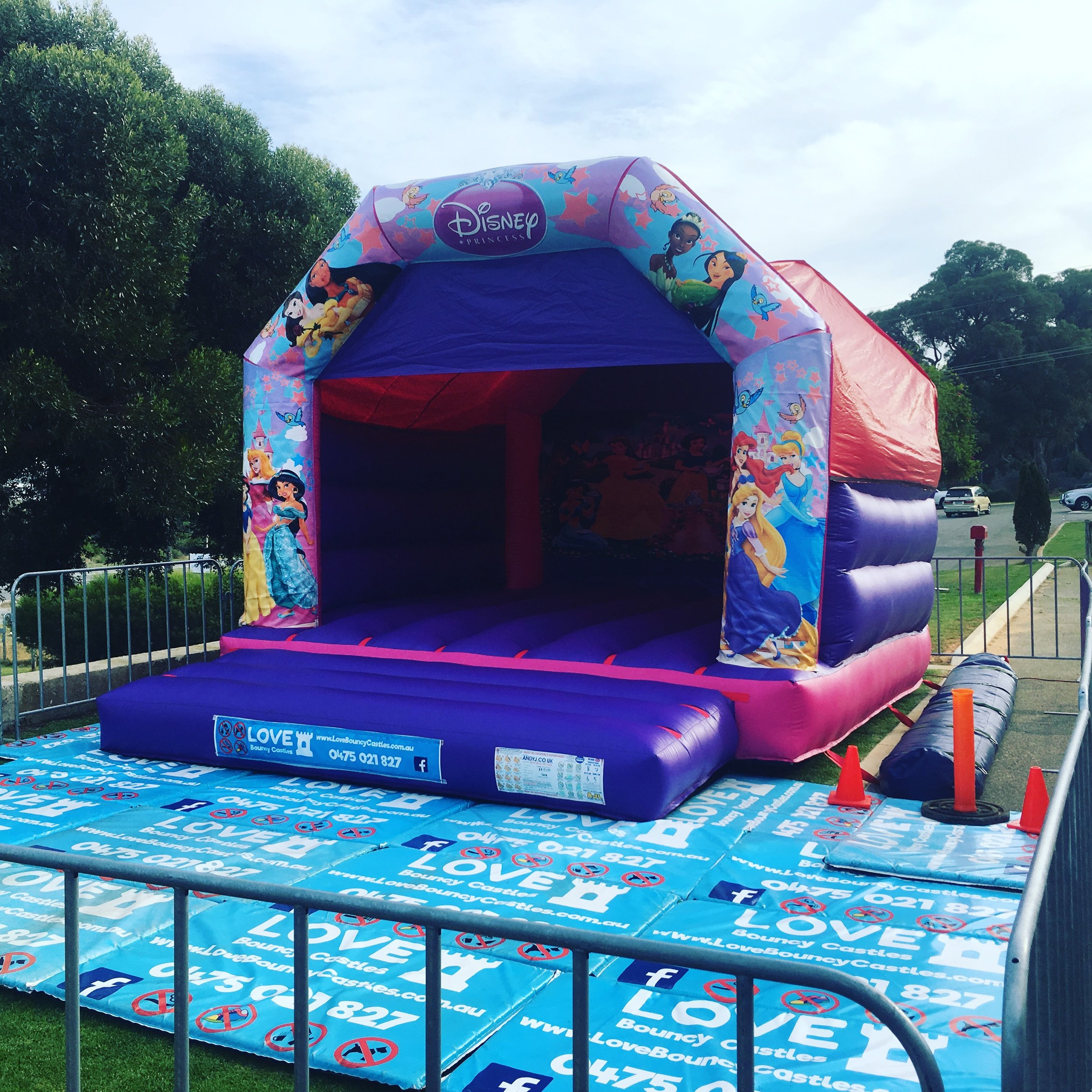 Copy of Princess Jumping Castle Hire in Perth, WA