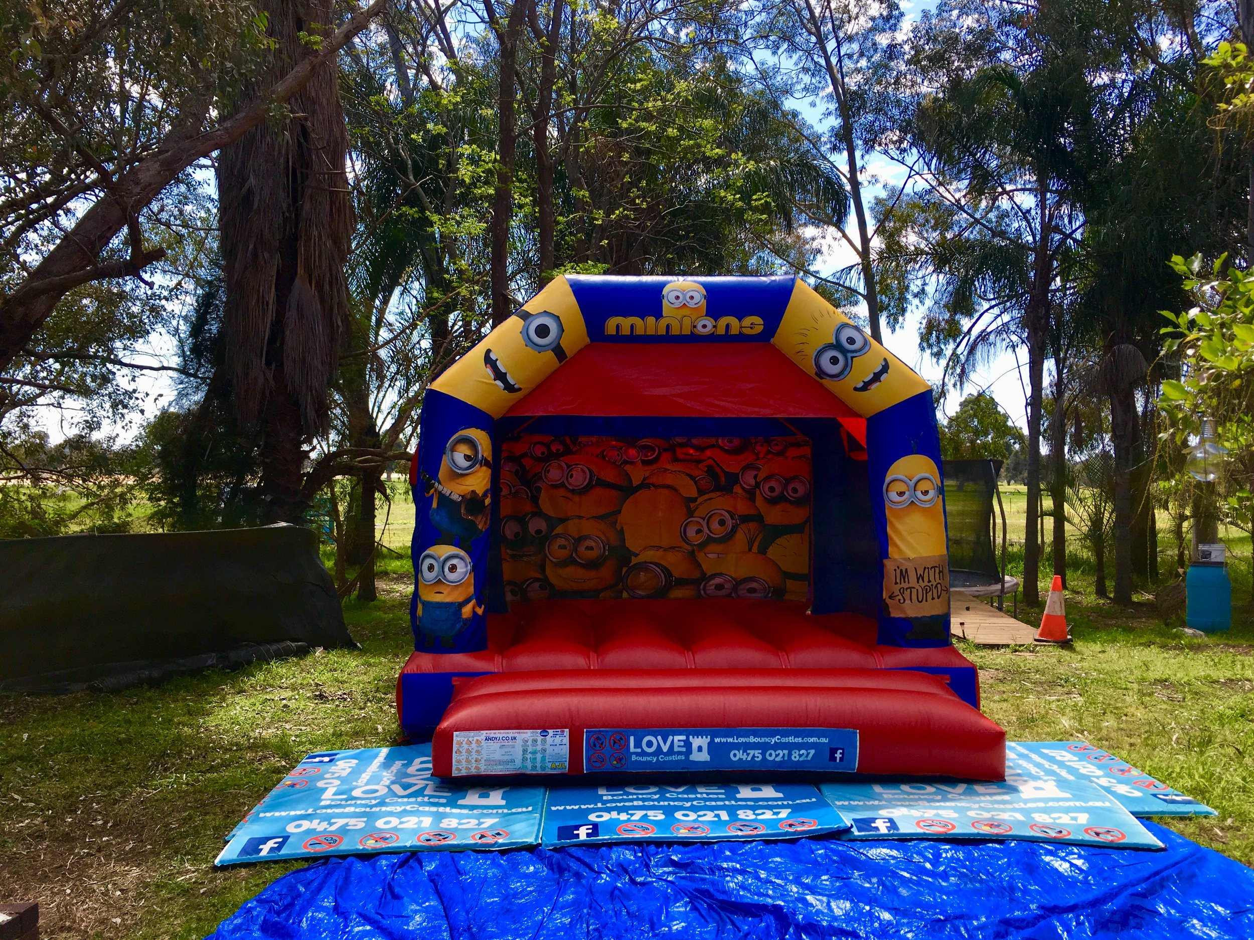 Copy of Minions Jumping Castle Hire Perth, WA