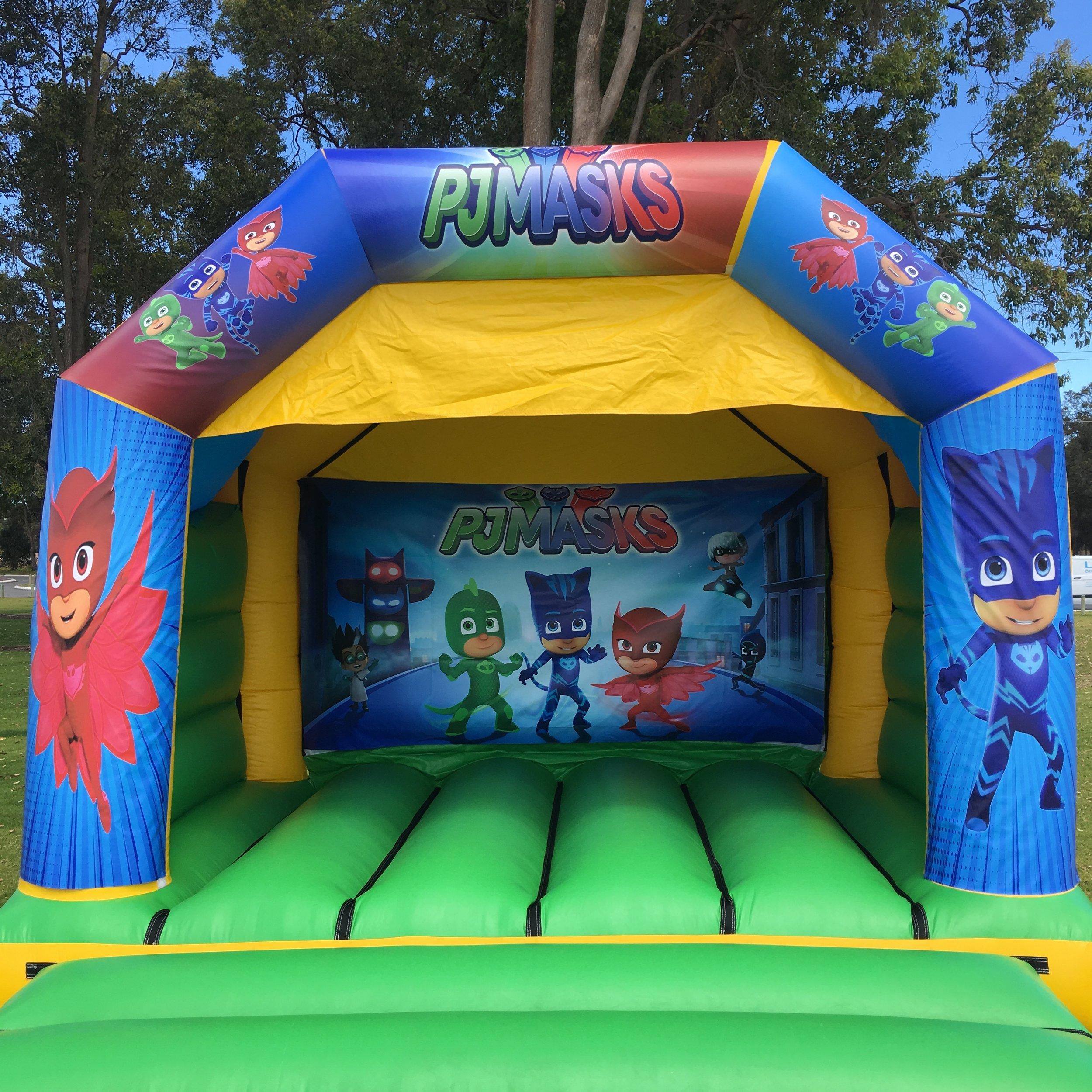 PJ Masks Bouncy Castle Hire Mandurah