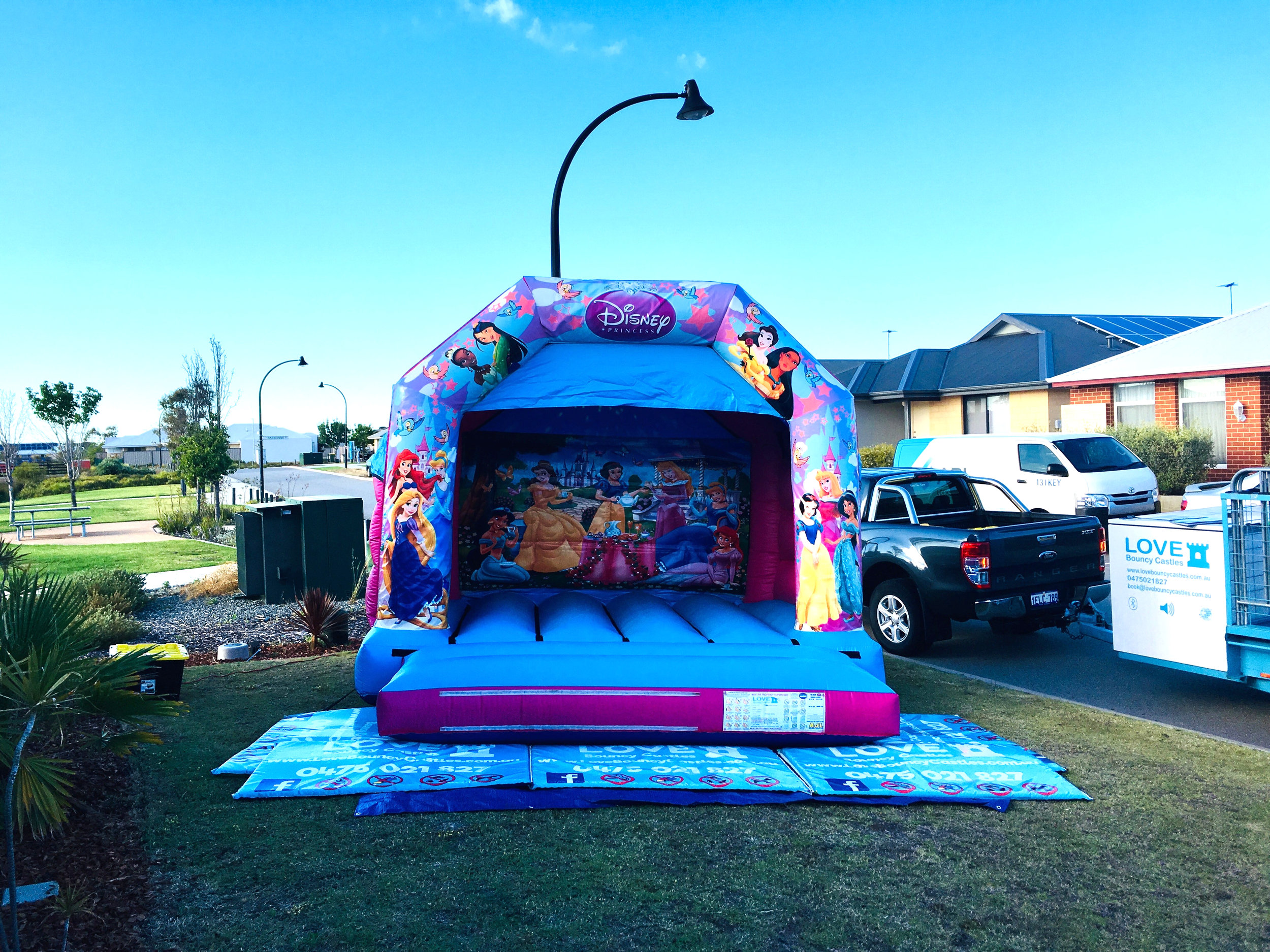 Princess Bouncy Castle Hire Perth