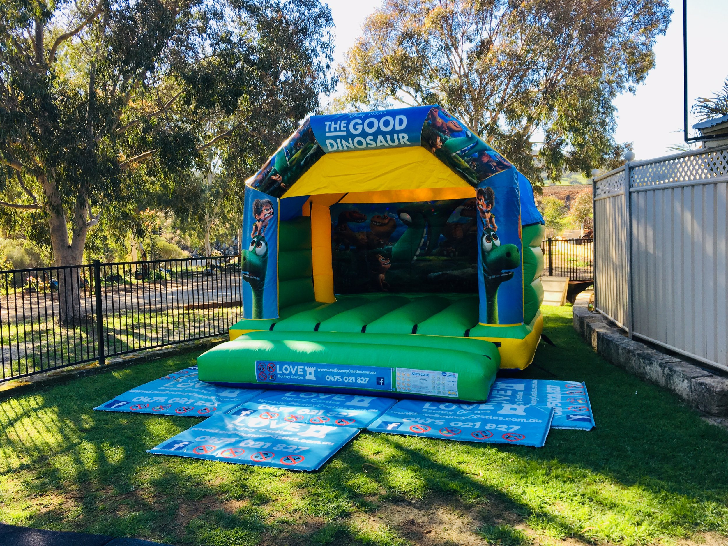 Dinosaur Bouncy Castle Hire Perth