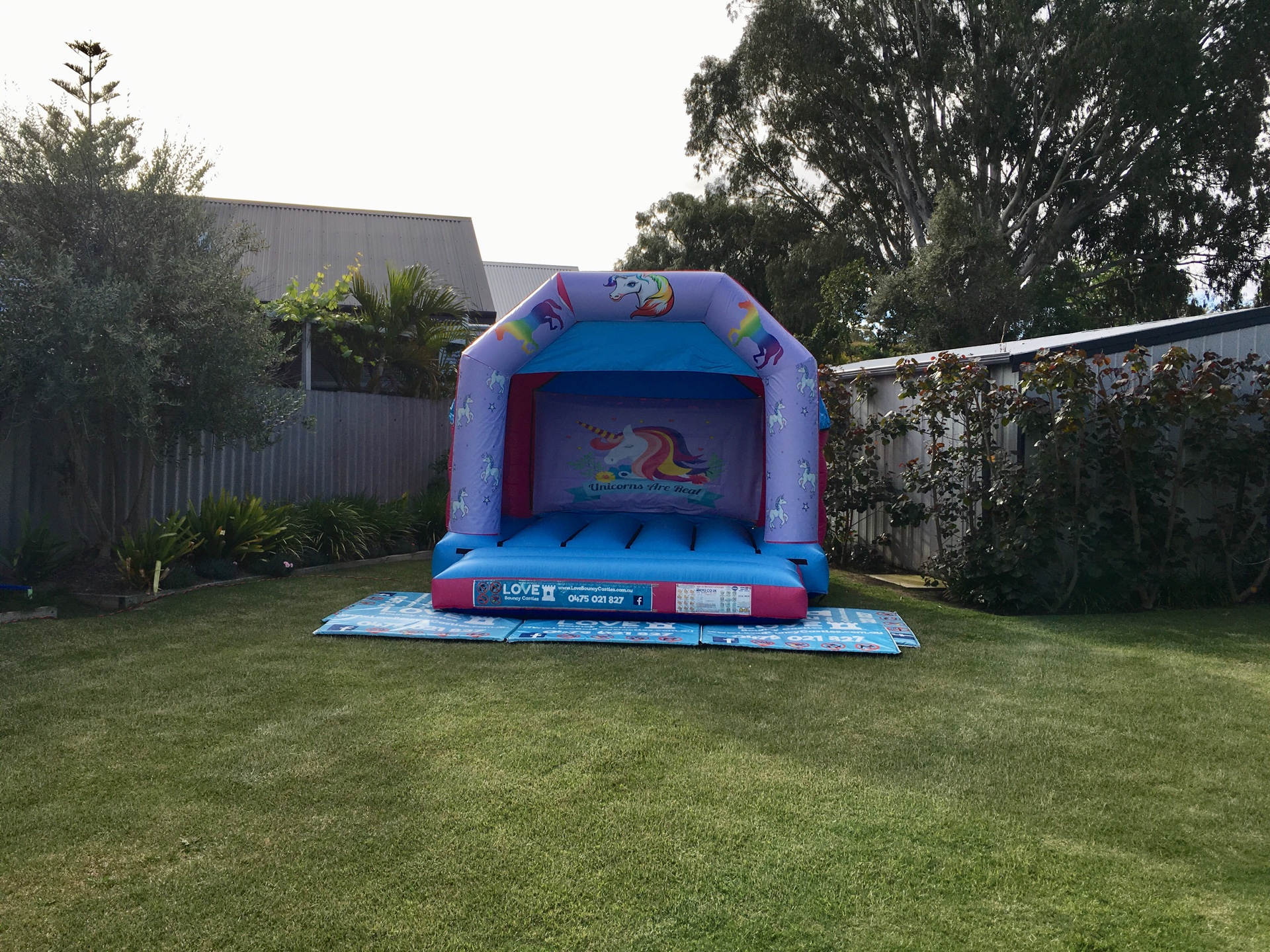 Unicorn Bouncy Castle Hire Perth