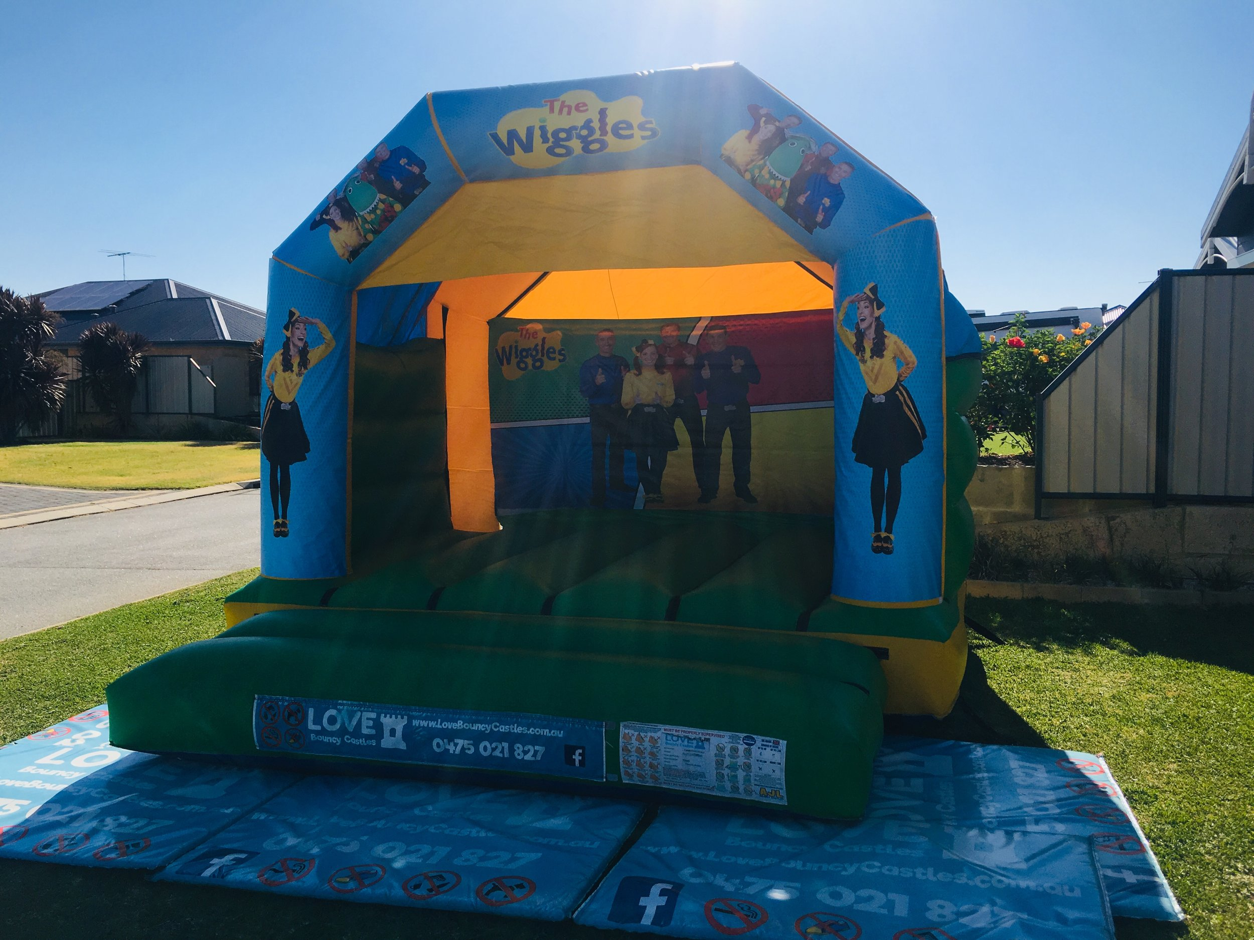 Wiggles Bouncy Castle Hire Perth