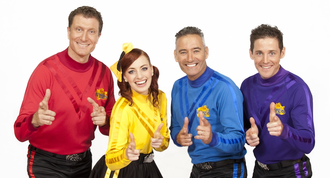The Wiggles Bouncy Castle Hire Rockingham