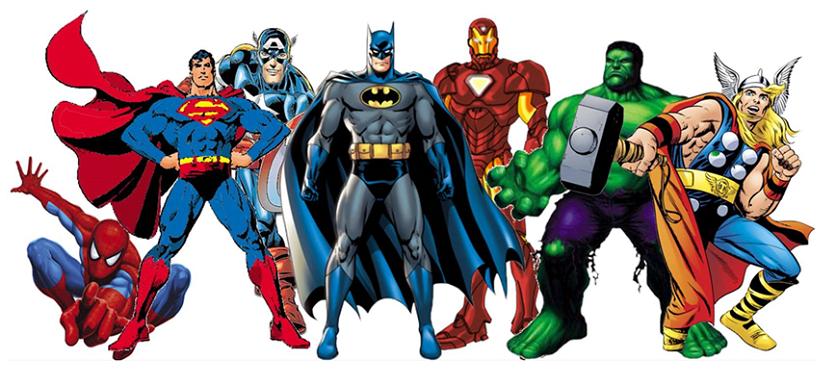 Super Heroes Bouncy Castle Hire Rockingham