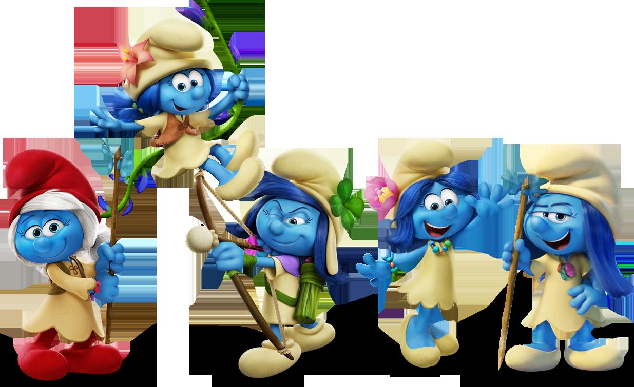 Smurfs Bouncy Castle Hire Rockingham