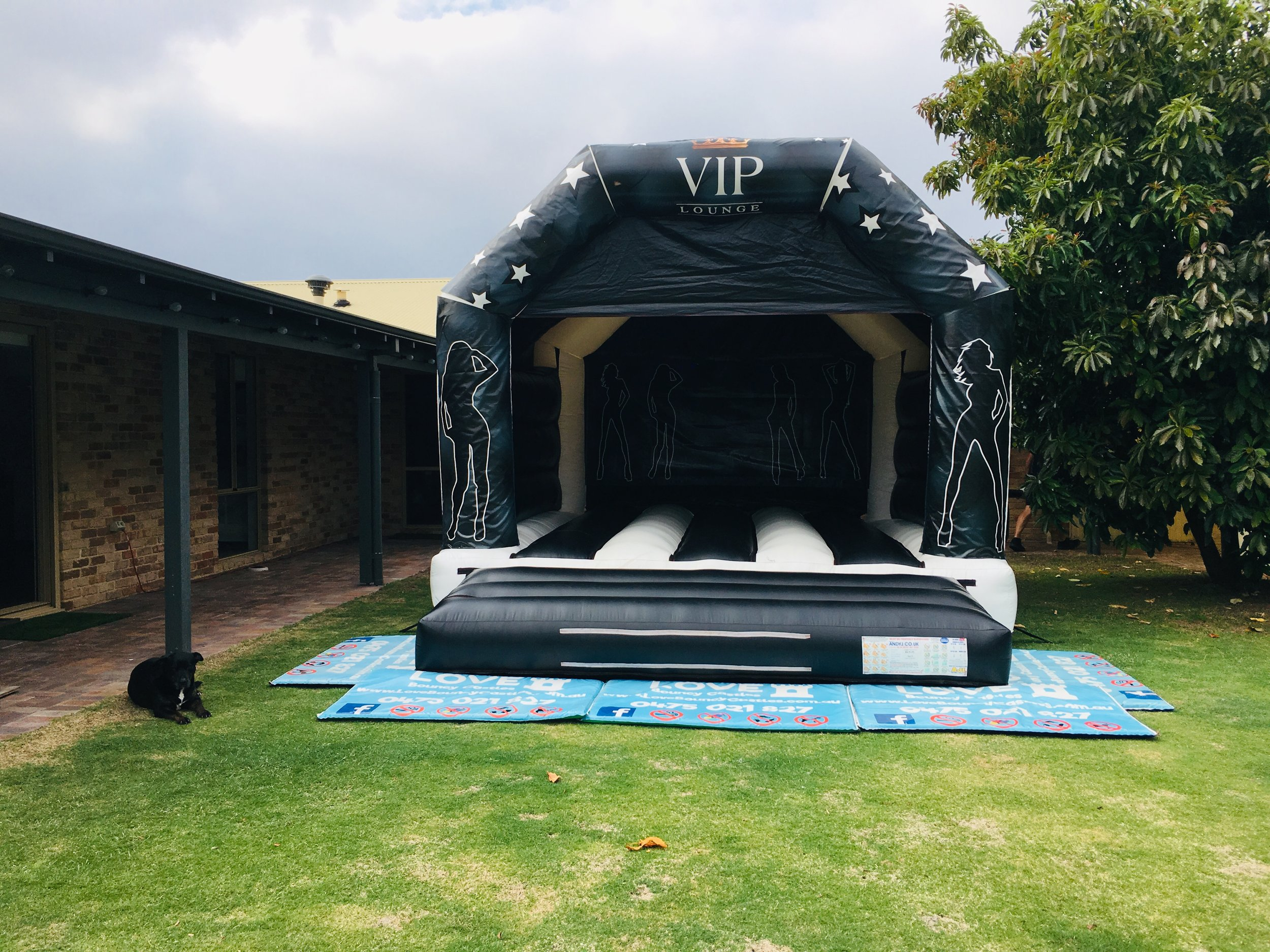 VIP Adult Bouncy Castle Hire Perth