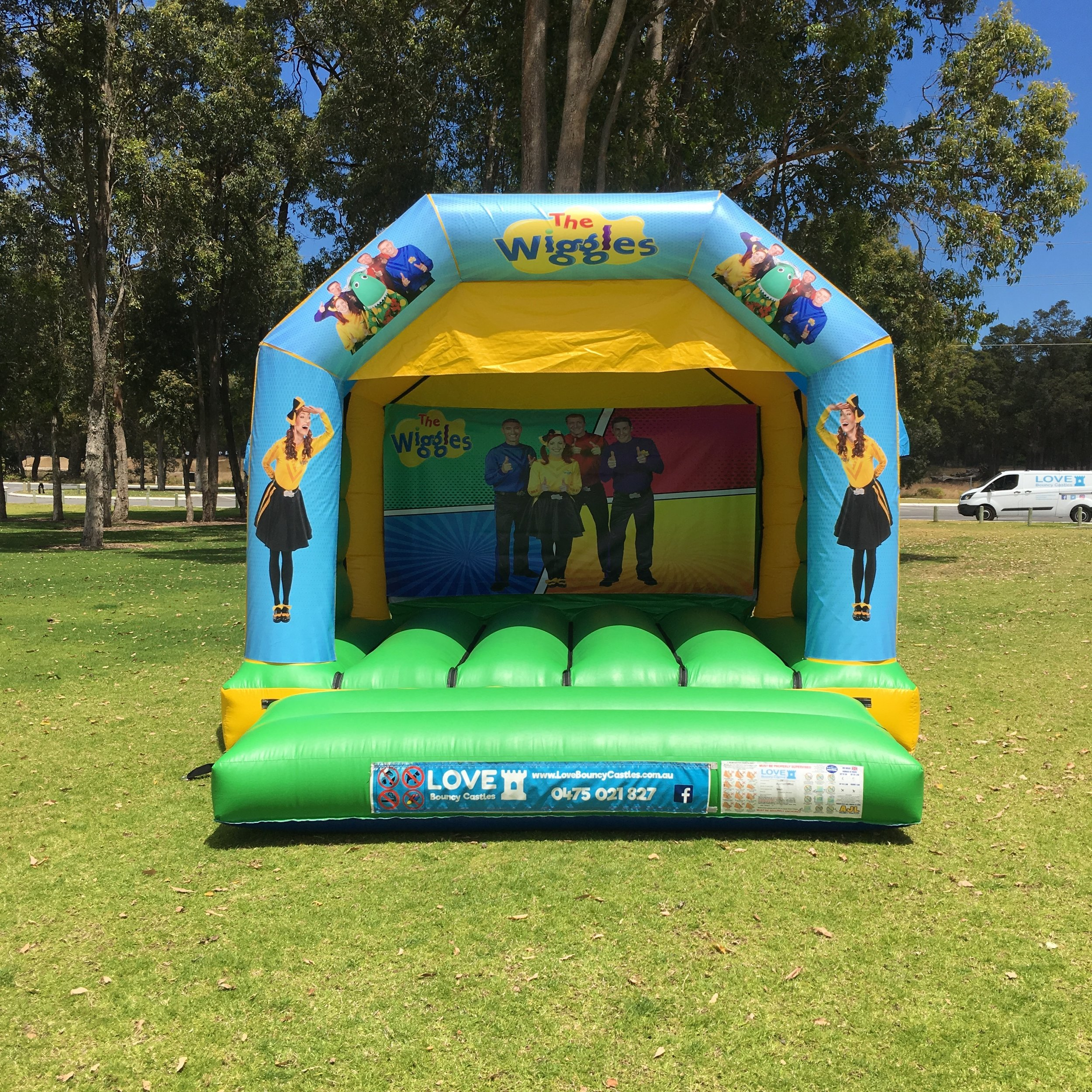 Small Bouncy Castles - Castle Size 4mL x 4mW x 3.4mHSuitable From 2 yrs to 12 yrsCapacity – Up to 6 kids at a timePricesHalf Day Hire ( 10am to 2pm ) $225Full Day Hire ( 10am to 4pm ) $275Night Hire ( 4pm to 7am ) $300Prices are based on yard parties. For park set up or events please call or email for a quotation.