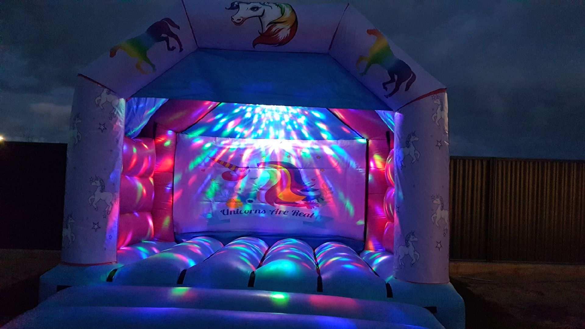 Unicorn Bouncy Castle Hire Joondalup