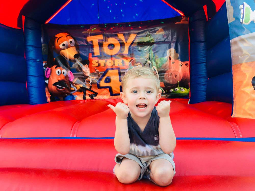 Toy Story Bouncy Castle Hire Rockingham