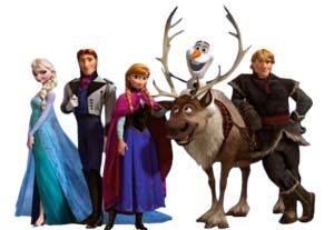 Frozen Bouncy Castle Hire Perth