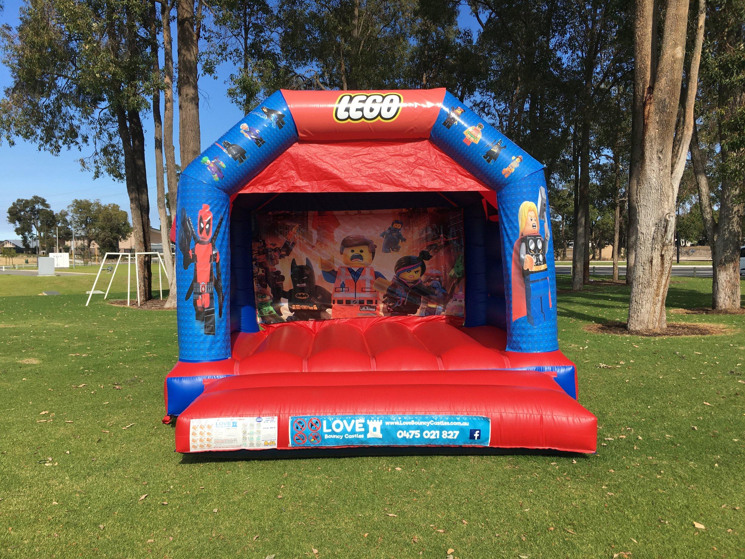 Lego Bouncy Castle Hire Baldivis