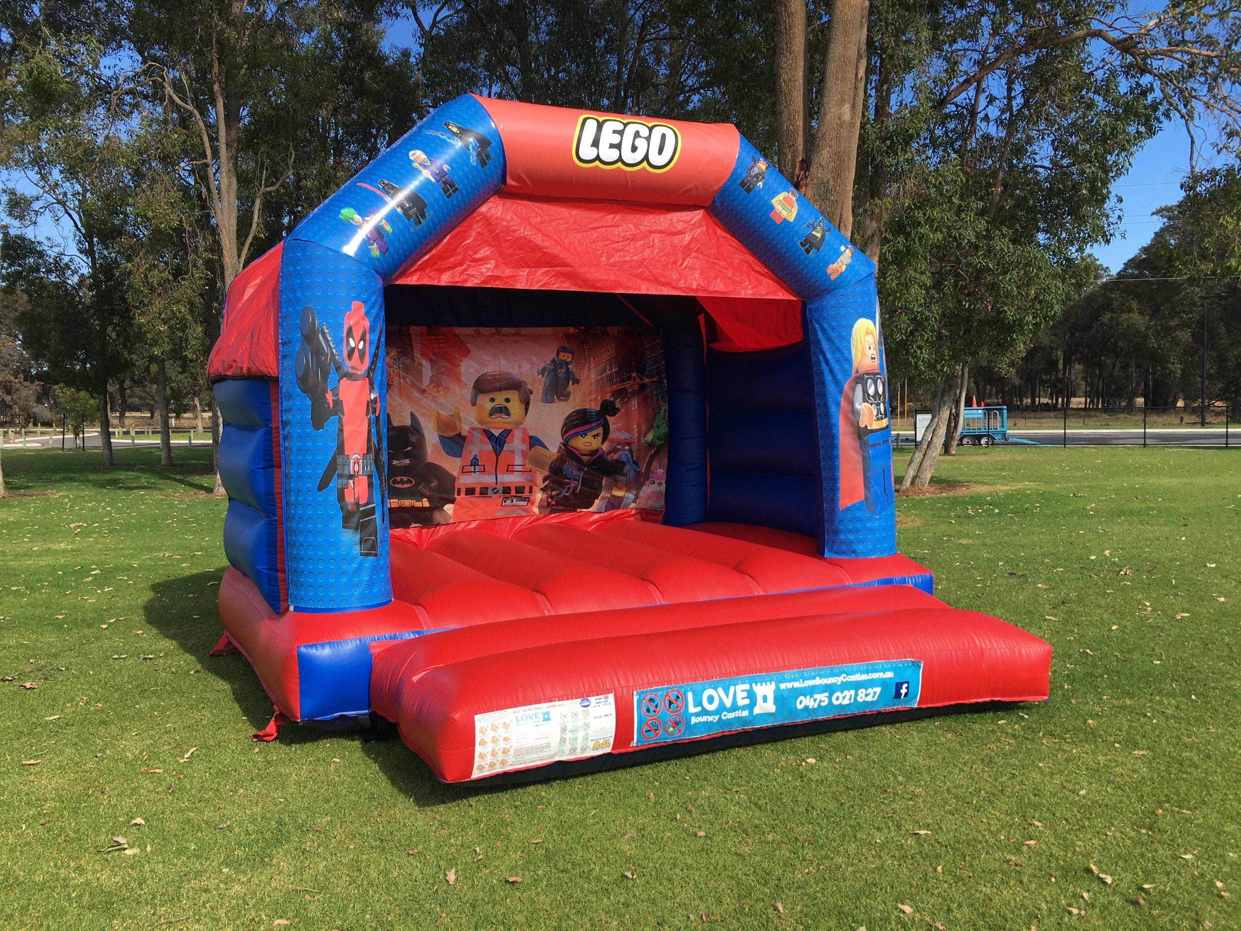 Lego Bouncy Castle Hire Rockingham
