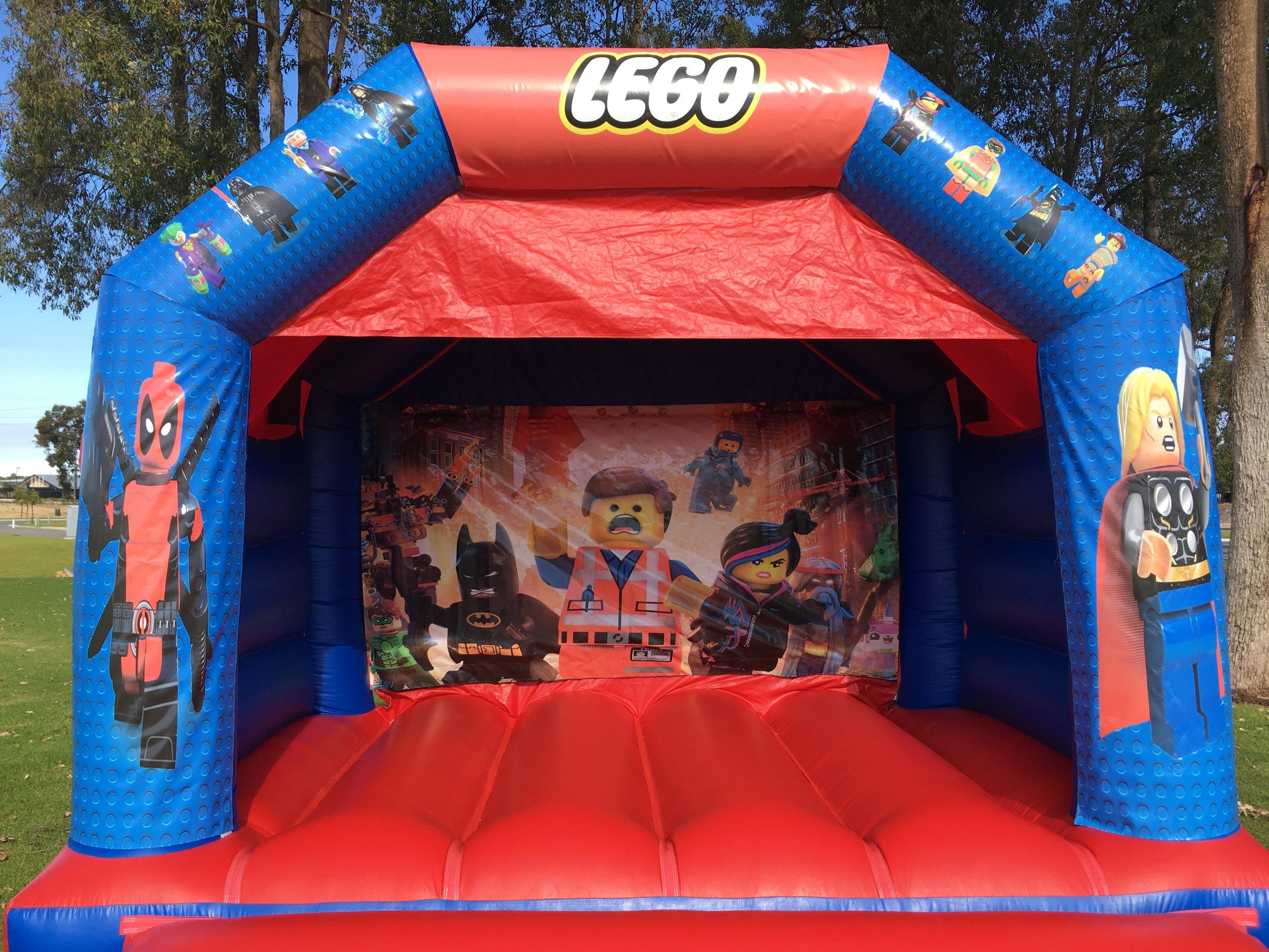 Lego Bouncy Castle Hire Mandurah