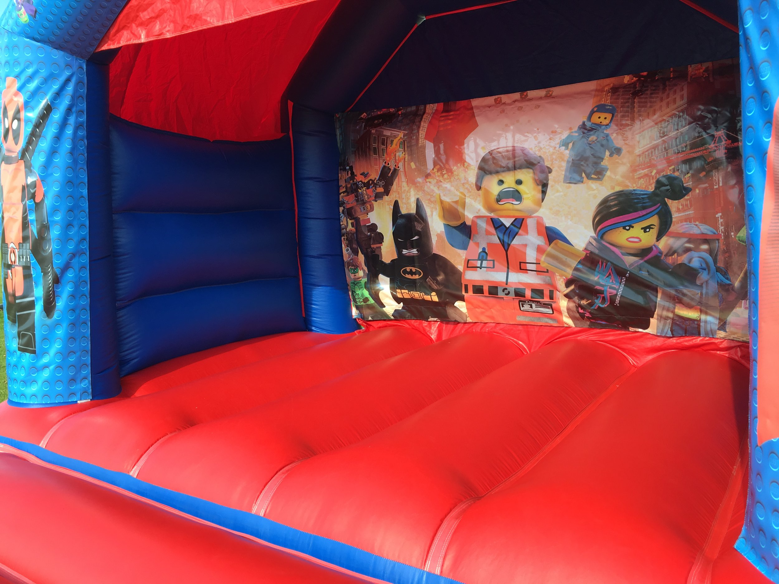 Lego Bouncy Castle Hire In Perth