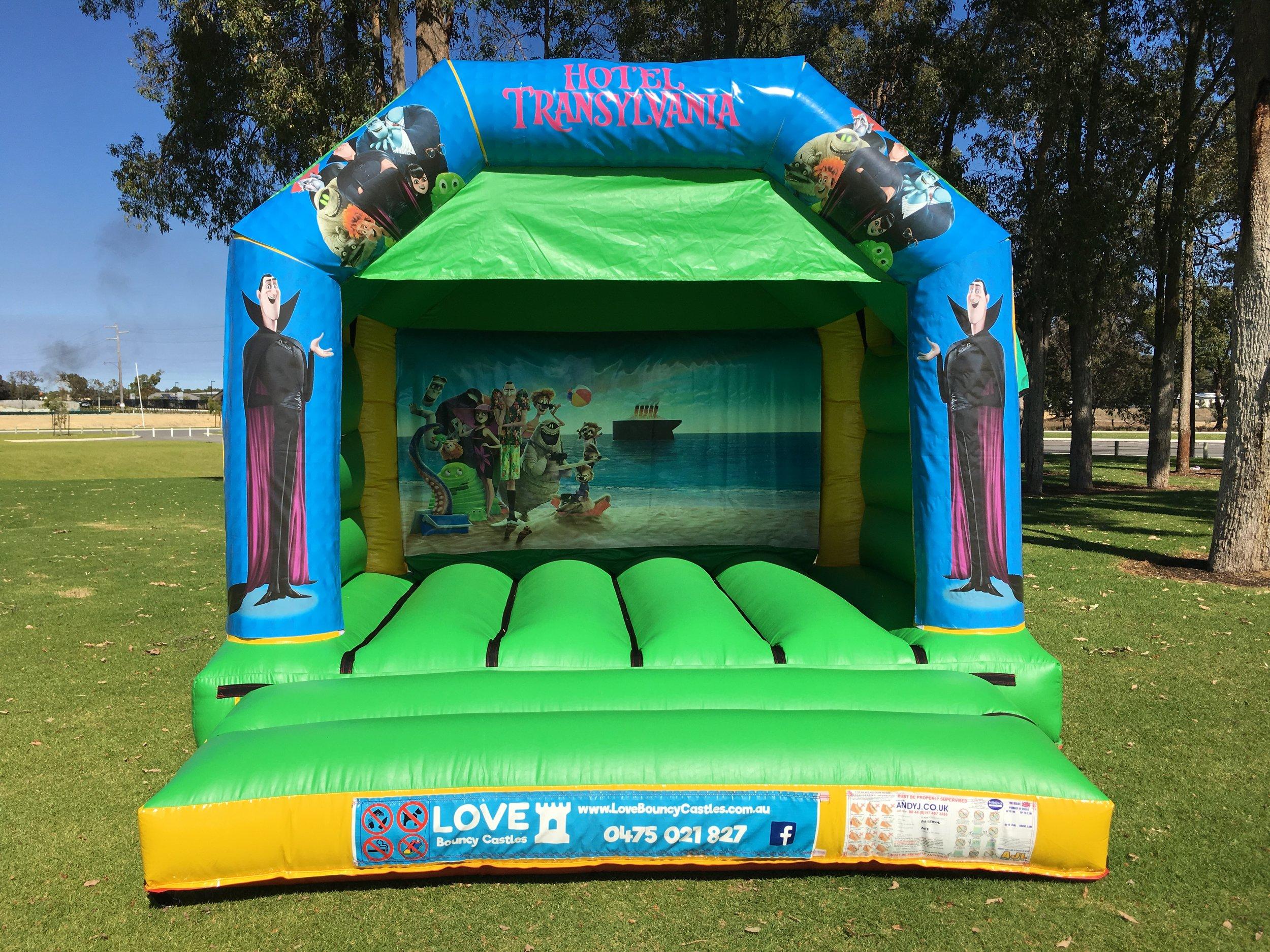 Cars Bouncy Castle Hire Baldivis